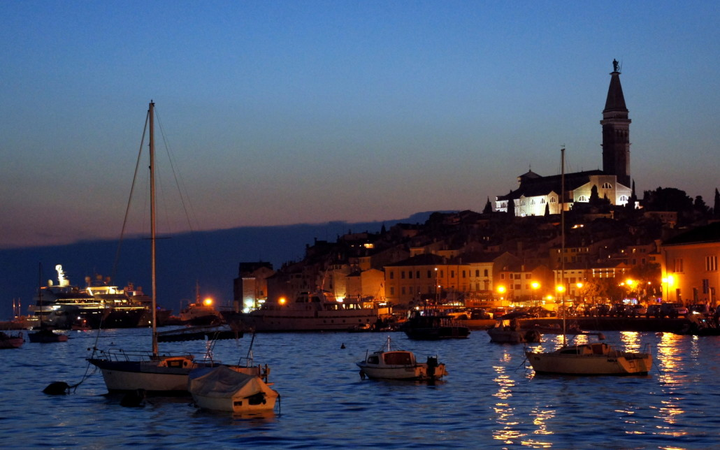 A perfect night in Rovinj.